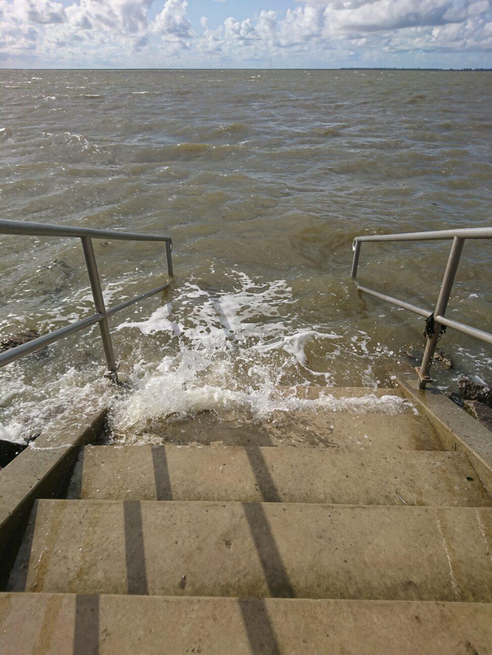 Abstieg Badestelle Wesselburenerkoog