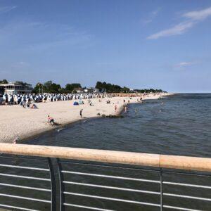 Grömitz Strand, Richtung Westen